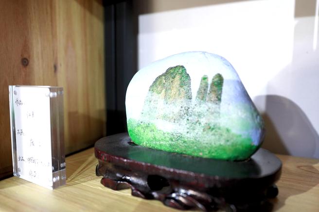 """脑洞大开!你的石头也会说""""画"""""""