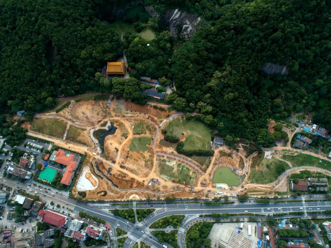 """西山花海变成了一座新公园,预计国庆前与江山市民""""见面""""!"""
